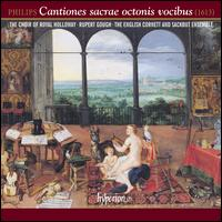 Peter Philips: Cantiones sacrae octonis vocibus - Amon-Ra Twilley (bass); Cecily Beer (alto); English Cornett and Sackbut Ensemble; Ewan Stockwell (tenor);...