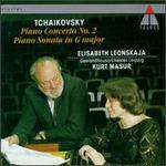 Peter Tchaikovsky: Piano Concerto No. 2, Op. 44/Piano Sonata No. 1, Op. 37