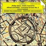 Philip Glass: Violin Concerto; Alfred Schnittke: Concerto Grosso No. 5