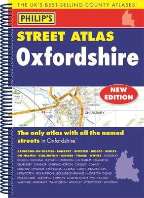 Philip's Street Atlas Oxfordshire 5ED Spiral (New Edition) -