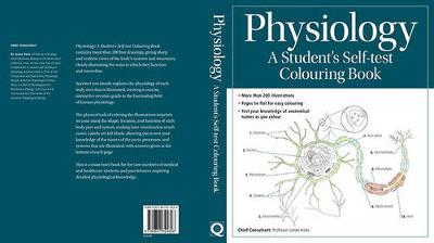 Physiology: a Student's Self-Test Coloring Book: All-In-One Reference and Study Aid for Human Physiology -