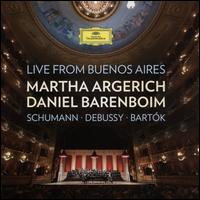 Piano Duos II: Schumann, Debussy, Bartók - Daniel Barenboim (piano); Lev Loftus (percussion); Martha Argerich (piano); Pedro Manuel Torrejón González (percussion)