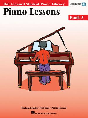 Piano Lessons, Book 5 - Kreader, Barbara, and Kern, Fred, and Keveren, Phillip