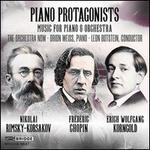 Piano Protagonists: Music for Piano & Orchestra