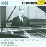 Piano Recital 1988: Mendelssohn Bartholdy, Beethoven, Liszt