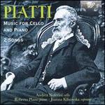 Piatti: Music for Cello and Piano; 2 Songs