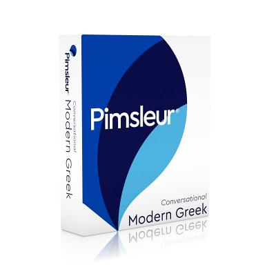 Pimsleur Greek (Modern) Conversational Course - Level 1 Lessons 1-16 CD: Learn to Speak and Understand Modern Greek with Pimsleur Language Programs - Pimsleur
