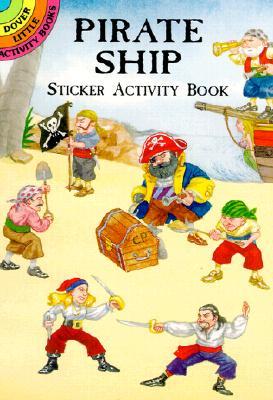 Pirate Ship Sticker Activity Book - Petruccio, Steven James