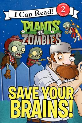 Plants vs. Zombies: Save Your Brains! - Hapka, Catherine