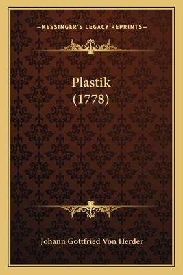 Plastik (1778) - Herder, Johann Gottfried