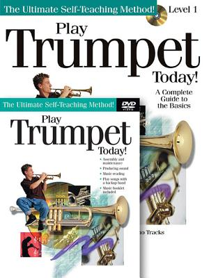 Play Trumpet Today! Beginner's Pack: Book/CD/DVD Pack - Hal Leonard Publishing Corporation (Creator)