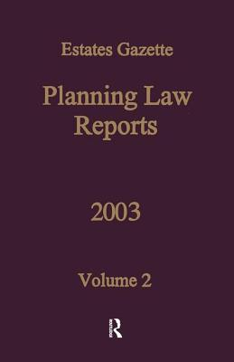 PLR 2003: v. 2 - Denyer-Green, Barry, and Ubhi, Navjit