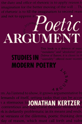 Poetic Argument - Kertzer, Jonathan