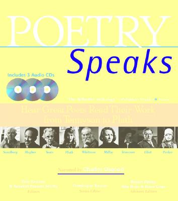 Poetry Speaks: Hear Great Poets Read Their Work from Tennyson to Plath (from Sourcebooks, Inc.) - Paschen, Elise