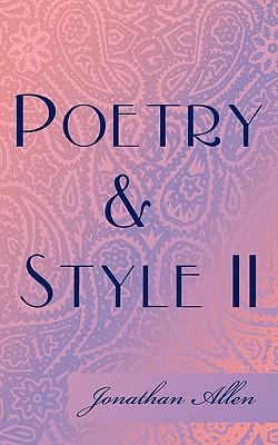 Poetry & Style II - Allen, Jonathan