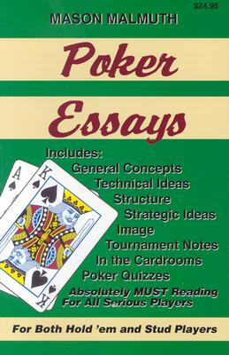 Poker Essays - Malmuth, Mason