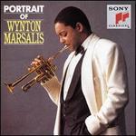 Portrait of Wynton Marsalis