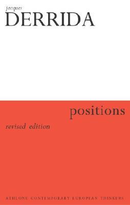 Positions - Derrida, Jacques
