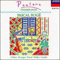 Poulenc: Chamber Music - Amaury Wallez (bassoon); André Cazalet (horn); Maurice Bourgue (oboe); Michel Portal (clarinet); Pascal Rogé (piano);...