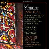 Poulenc: Mass in G - Eamonn O'Dwyer (treble); Iain Simcock (organ); Mark Kennedy (treble); Matthew Vine (tenor);...