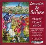 Poulenc, Milhaud, Bart?k: Concertos for Two Pianos