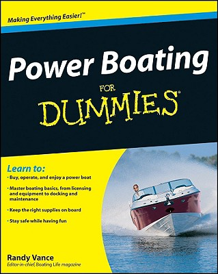 Power Boating for Dummies - Vance, Randy