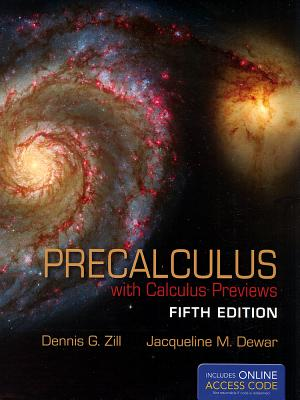 Precalculus: With Calculus Previews - Zill, Dennis G