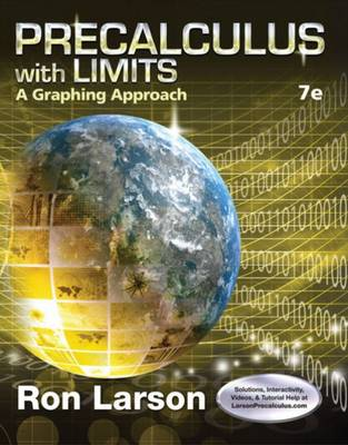 Precalculus with Limits: A Graphing Approach - Larson, Ron