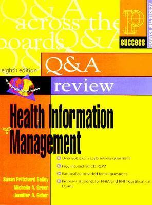 Prentice Hall's Question and Answer Review of Health Information Management - Bailey, Susan Pritchard, and Green, Michelle A, and Gehen, Jennifer A