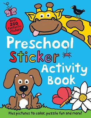 Preschool Sticker Activity Book - Priddy, Roger