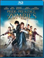 Pride and Prejudice and Zombies [Includes Digital Copy] [Blu-ray] - Burr Steers