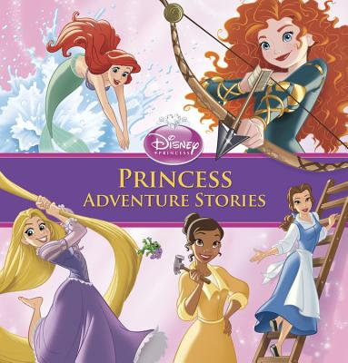 Princess Adventure Stories - Disney Storybook Artists (Illustrator)