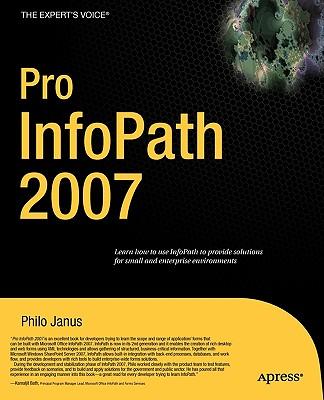 Pro InfoPath 2007 - Janus, Philo