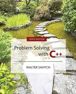 Problem Solving with C++ - Savitch, Walter J.