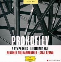 Prokofiev: 7 Symphonies; Lieutenant Kijé - Andreas Schmidt (baritone); Berlin Philharmonic Orchestra; Seiji Ozawa (conductor)