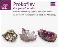 Prokofiev: Complete Concertos - Joshua Bell (violin); Lynn Harrell (cello); Vladimir Ashkenazy (piano)