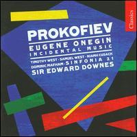 Prokofiev: Eugene Onegin - Andrew Rutt (bass); Dominic Mafham (vocals); Helena McCarthy (vocals); Julian Walker (bass); Katharine Fuge (soprano);...