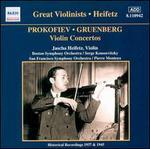 Prokofiev, Gruenberg: Violin Concertos