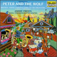 Prokofiev: Peter and the Wolf; Britten: Young Person's Guide to the Orchestra - Royal Philharmonic Orchestra; André Previn (conductor)