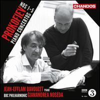 Prokofiev: Piano Concertos Nos. 1-5 - Jean-Efflam Bavouzet (piano); BBC Philharmonic Orchestra; Gianandrea Noseda (conductor)