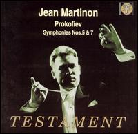 Prokofiev: Symphonies Nos. 5 & 7 - Paris Conservatory Concert Society Orchestra; Jean Martinon (conductor)