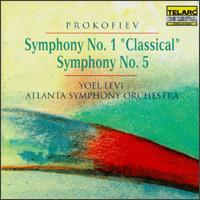 Prokofiev: Symphony No. 1/Symphony No. 5 - Atlanta Symphony Orchestra; Yoel Levi (conductor)