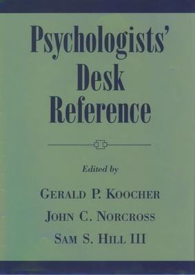 Psychologists' Desk Reference - Hill, Samuel S