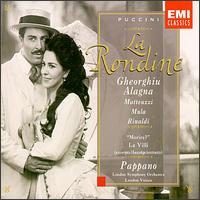 Puccini: La Rondine - Alberto Rinaldi (vocals); Andrew Busher (vocals); Angela Gheorghiu (vocals); Antonio Pappano (piano);...