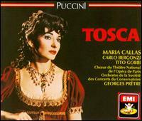 Puccini: Tosca - Carlo Bergonzi (tenor); David Sellar (treble); Giorgio Tadeo (bass); Leonardo Monreale (bass); Maria Callas (soprano);...
