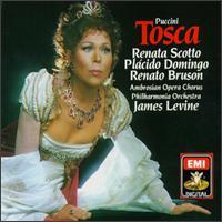 Puccini: Tosca - Andrea Velis (tenor); Dominick Martinez (voices); Itzhak Perlman (bass); John Cheek (bass); Paul Hudson (bass); Plácido Domingo (tenor); Renata Scotto (soprano); Renato Bruson (baritone); Renato Capecchi (baritone)