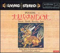 Puccini: Turandot - Adelio Zagonara (baritone); Alessio de Paolis (tenor); Birgit Nilsson (soprano); Giorgio Tozzi (soprano);...