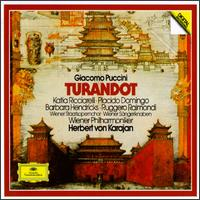 Puccini: Turandot - Barbara Hendricks (vocals); Francisco Araiza (vocals); Gottfried Hornik (vocals); Heinz Zednik (vocals); Katia Ricciarelli (vocals); Piero de Palma (vocals); Plácido Domingo (vocals); Ruggero Raimondi (vocals); Siegmund Nimsgern (vocals)