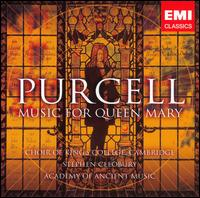 Purcell: Music for Queen Mary - Academy of Ancient Music; Alastair Ross (organ); Alastair Ross (harpsichord); Andrew Staples (tenor);...