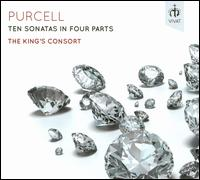 Purcell: Ten Sonatas in Four Parts - The King's Consort